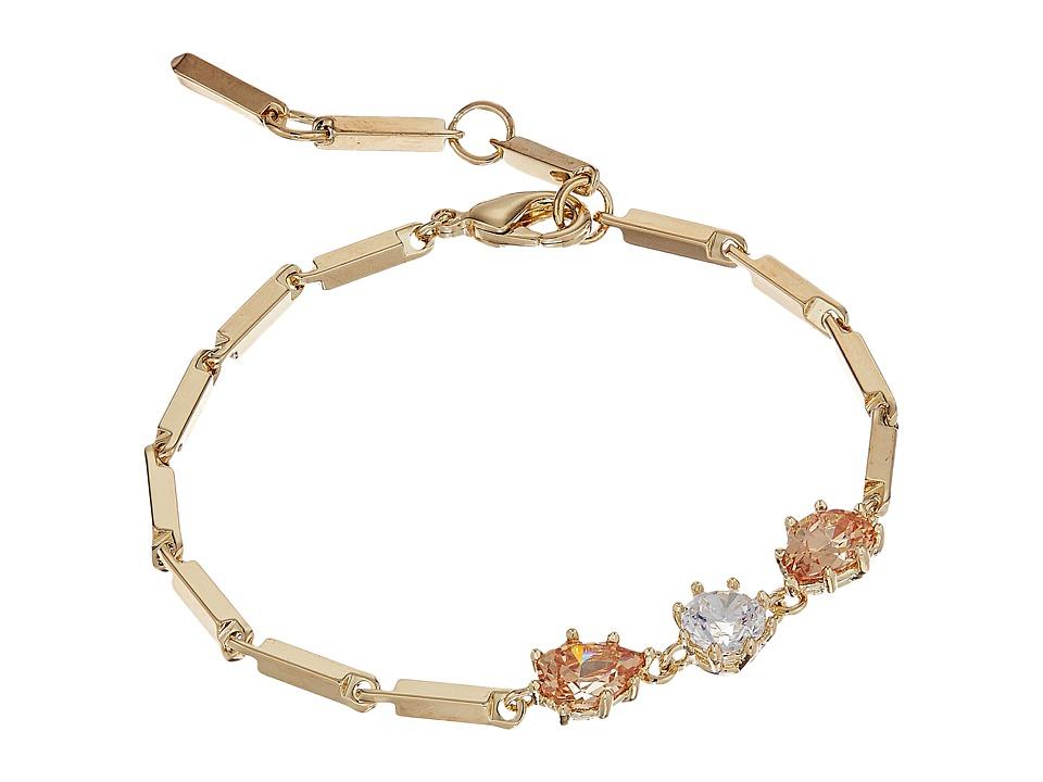 Eddie Borgo - Estate Pop Line Bracelet (Gold) Bracelet