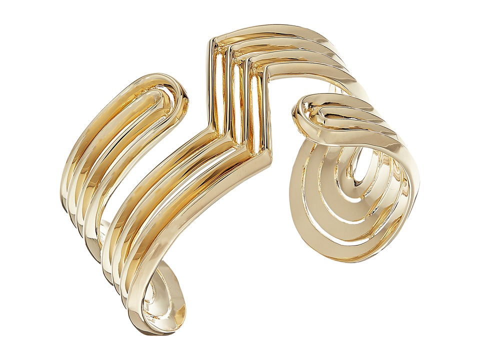 Eddie Borgo - Trace Cuff Bracelet (Gold) Bracelet