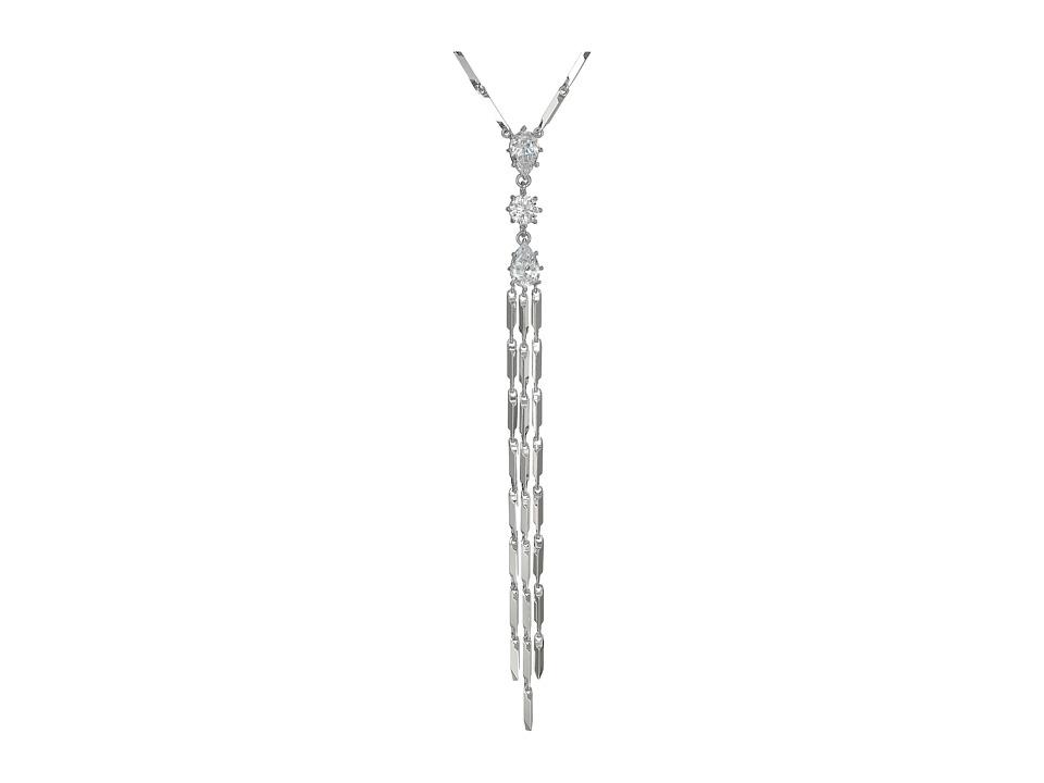 Eddie Borgo - Estate Pop Pendant Necklace (Rhodium) Necklace