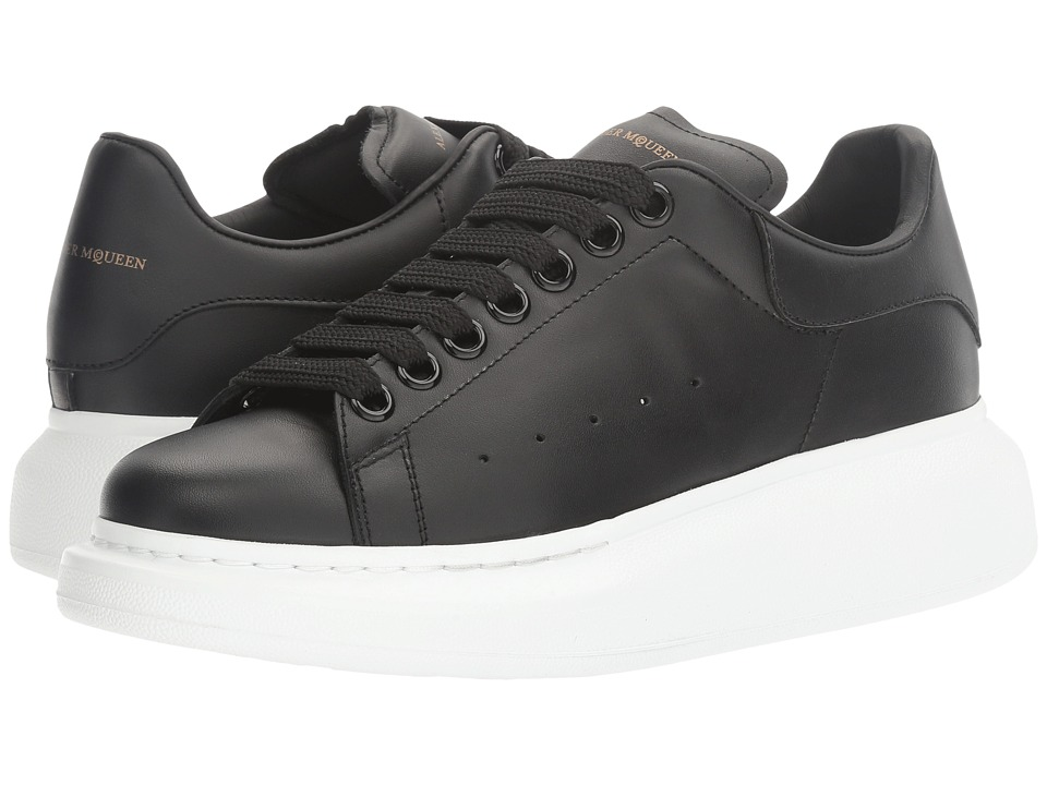 Alexander McQueen Lace-Up Sneaker (Black) Women