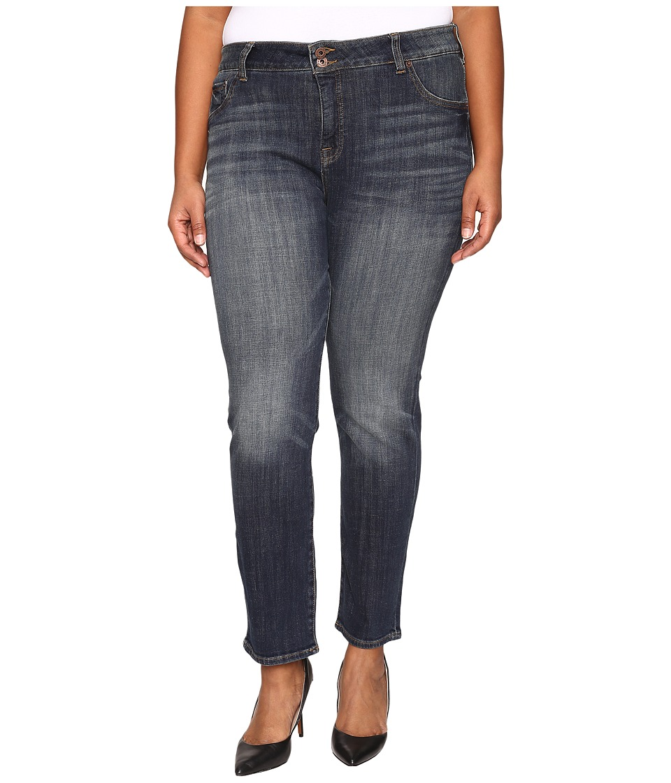 Lucky Brand - Plus Size Emma Straight in Tiburon (Tiburon) Women's Jeans