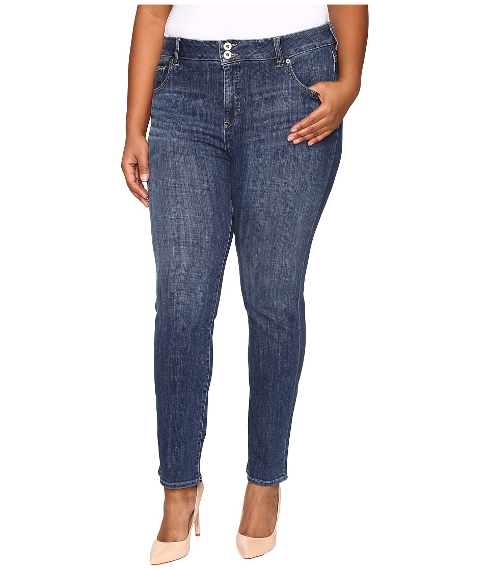Lucky Brand - Plus Size Emma Straight in Salty Water (Salty Water) Women's Jeans
