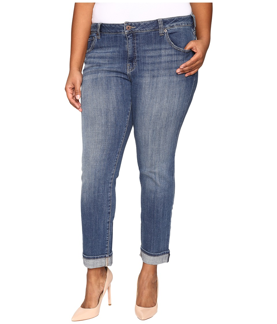 Lucky Brand - Plus Size Ginger Straight in Morrison (Morrison) Women's Jeans