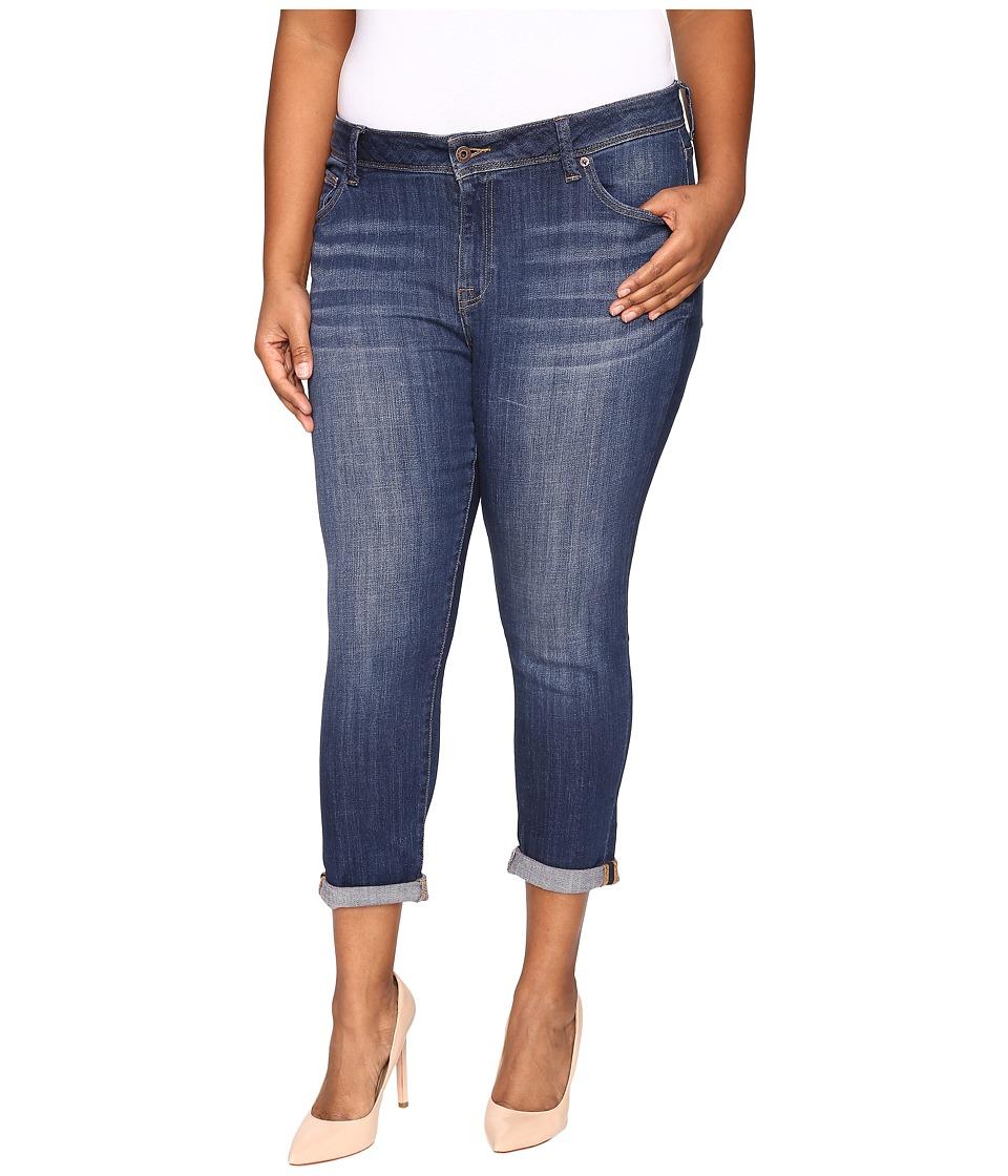 Lucky Brand - Plus Size Georgia Boyfriend in Lapis Lazuli (Lapis Lazuli) Women's Jeans