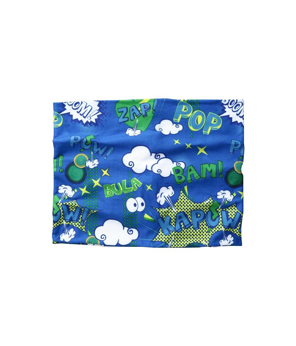 BULA - Kids Prodigy Printed Neck Gator (Big Kid) (Powder Blue) Scarves