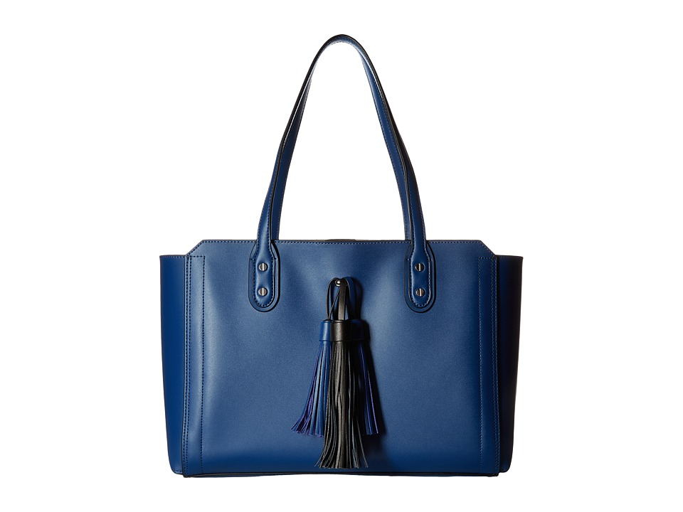Ivanka Trump - Soho Solutions Shopper with Battery Charging Pack (French Blue Core/Tassles) Handbags
