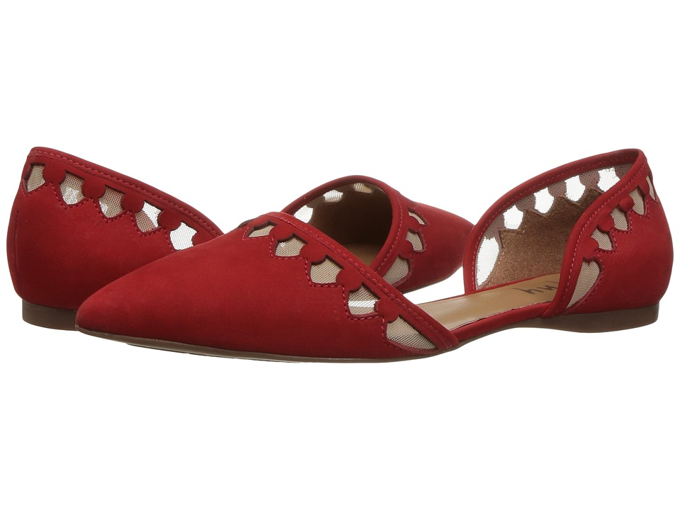 French Sole - Volt (Red Nubuck) Women's Shoes