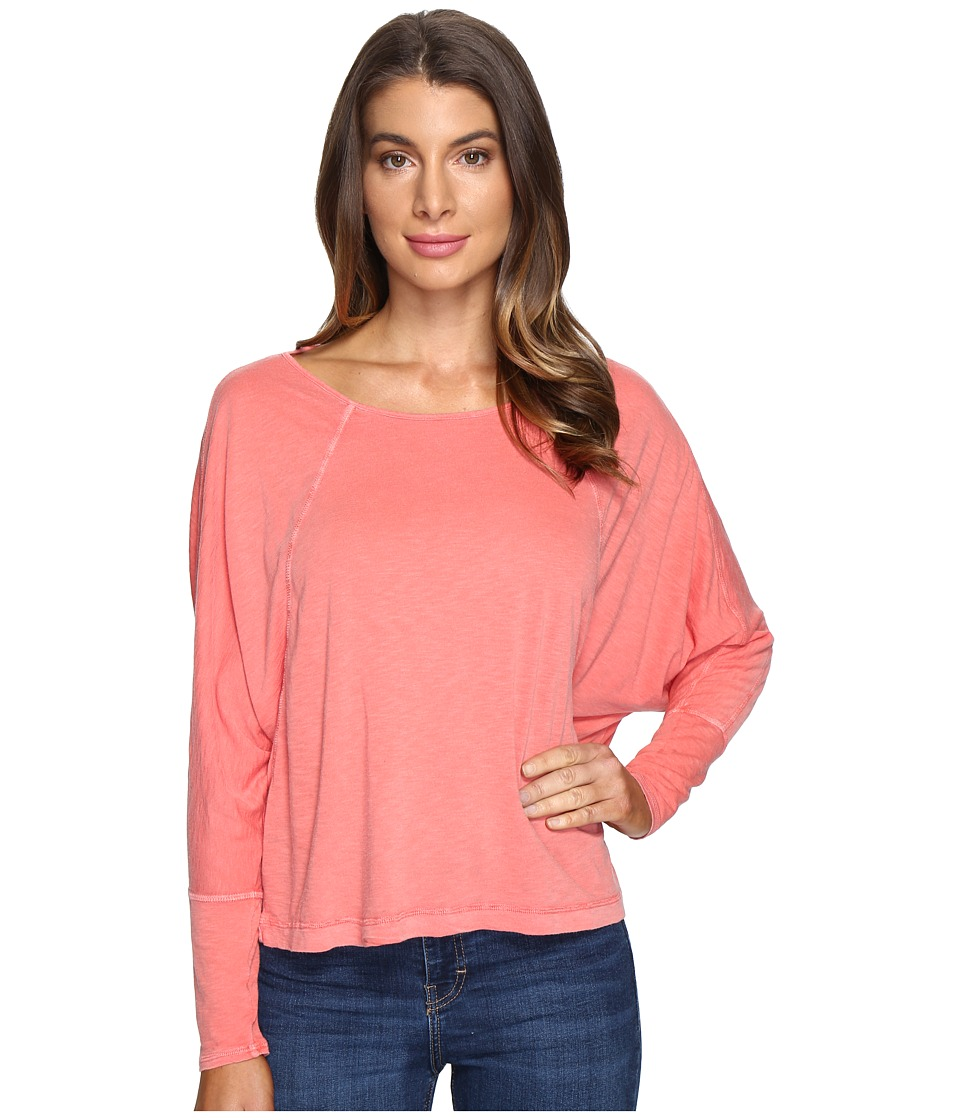 LAmade - Brigid Top (Spiced Coral) Women's Long Sleeve Pullover