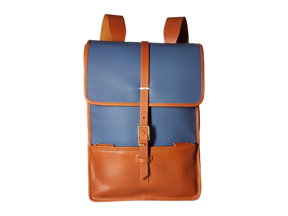 Miansai - Harbour Ruck Sack (Navy/Cognac) Backpack Bags