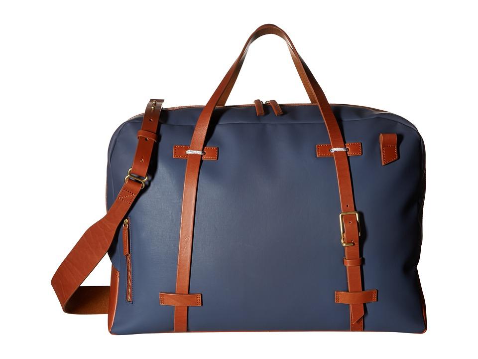 Miansai - Monroe Weekender (Navy/Cognac) Weekender/Overnight Luggage