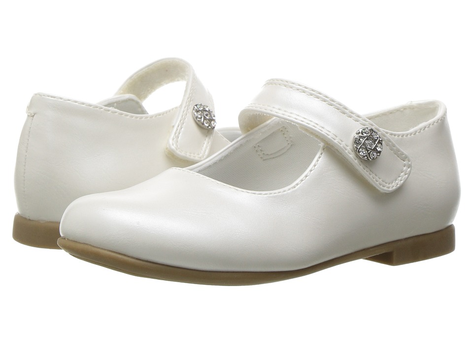 Rachel Kids - Lil Jackie (Toddler) (White Pearlized) Girls Shoes