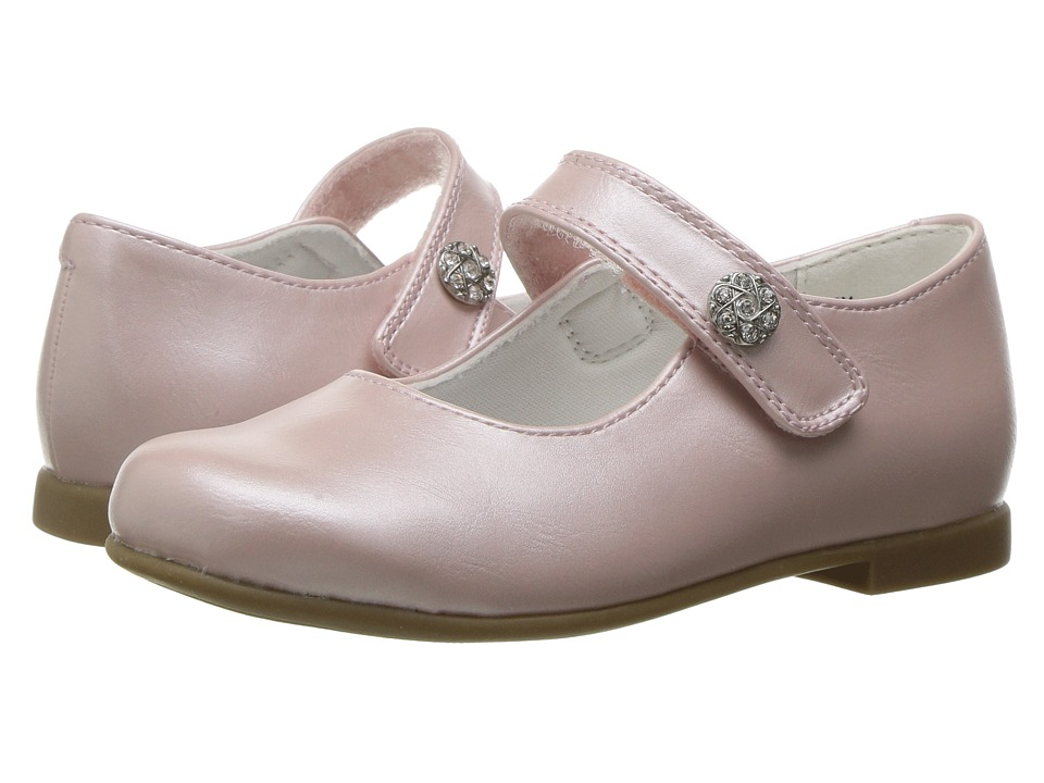 Rachel Kids - Lil Jackie (Toddler) (Pink Pearlized) Girls Shoes