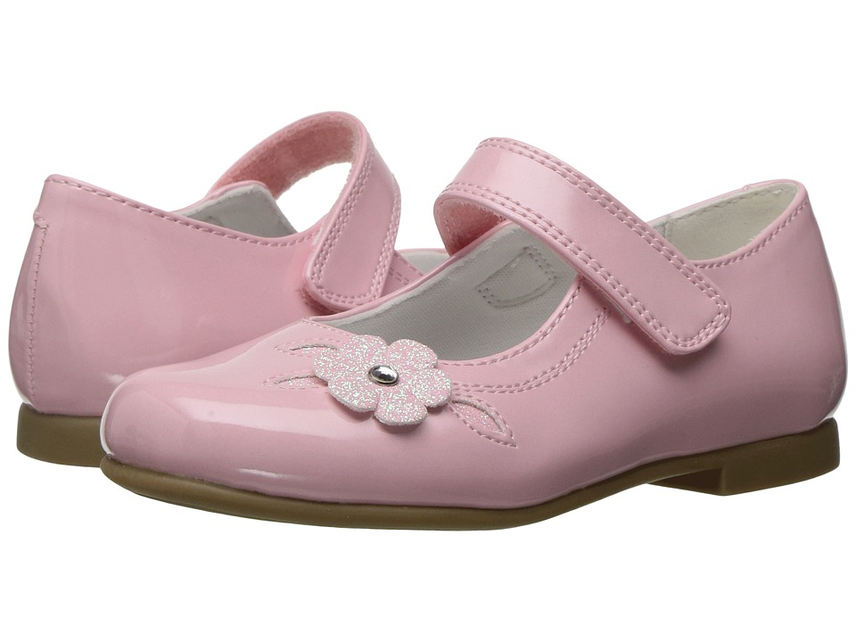 Rachel Kids - Lil Charlene (Toddler) (Pink Patent) Girls Shoes