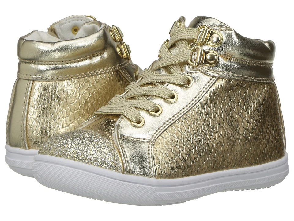 Rachel Kids - Lil Dallas (Toddler/Little Kid) (Gold) Girl's Shoes