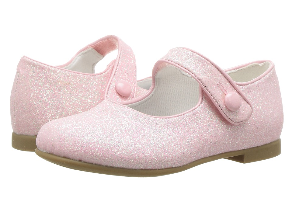 Rachel Kids - Lil Halle (Toddler) (Pink Glitter) Girls Shoes