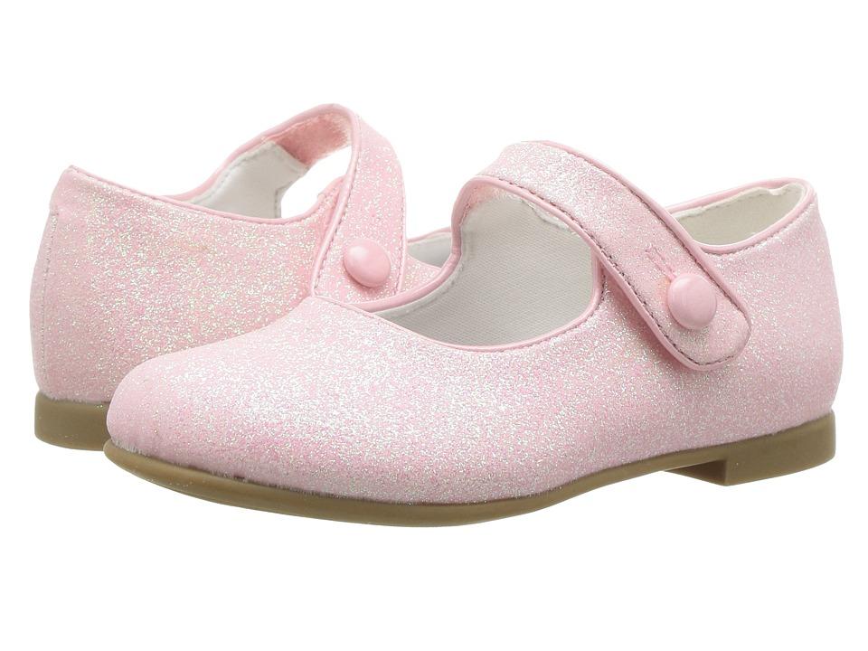 Rachel Kids - Lil Halle (Toddler) (Pink Glitter) Girls Shoes