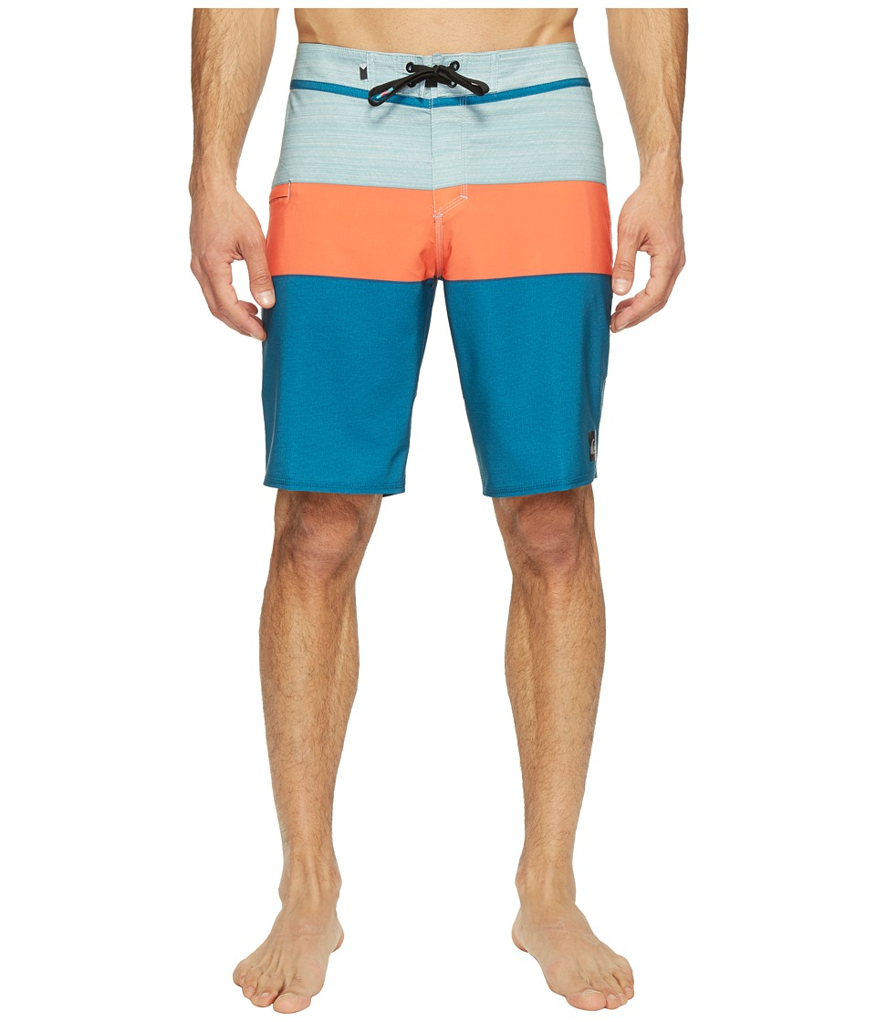 Quiksilver - Everyday Blocked Vee 20 Boardshorts (Moroccan Blue) Men's Swimwear