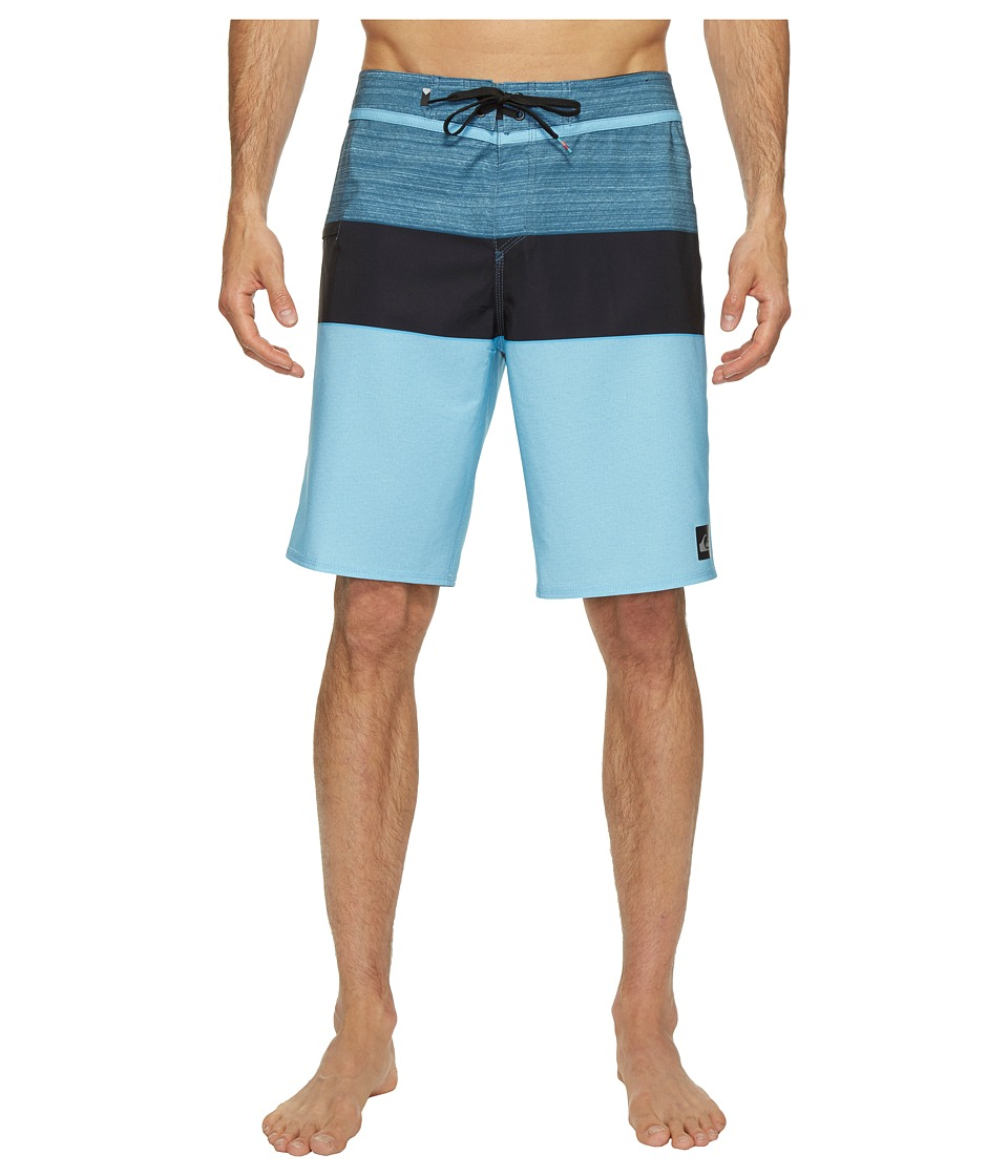 Quiksilver - Everyday Blocked Vee 20 Boardshorts (Indian Teal) Men's Swimwear