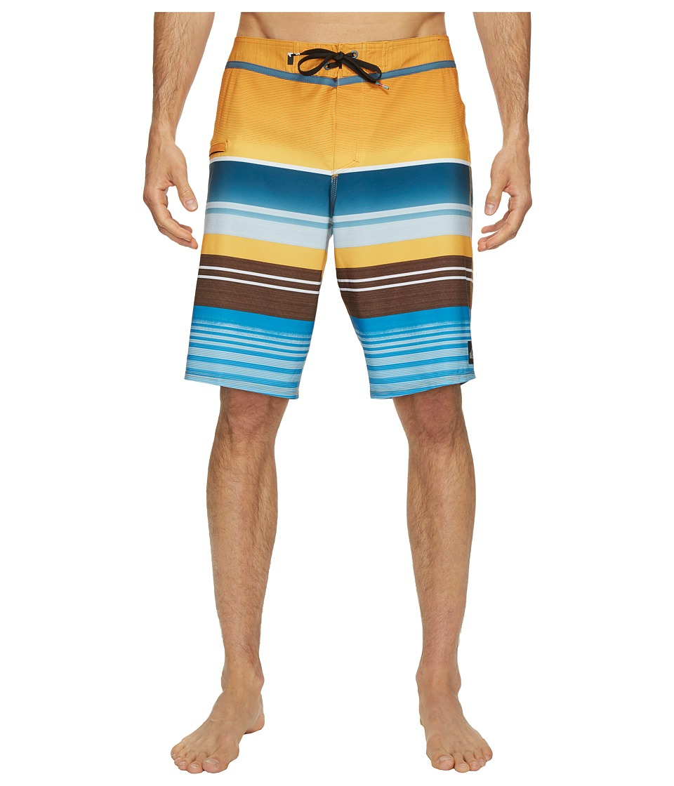 Quiksilver - Everyday Stripe Vee 21 Boardshorts (Artisan Gold) Men's Swimwear