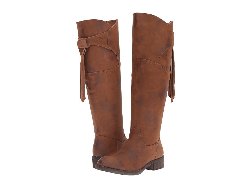 VOLATILE - Geneva (Rust) Women's Boots