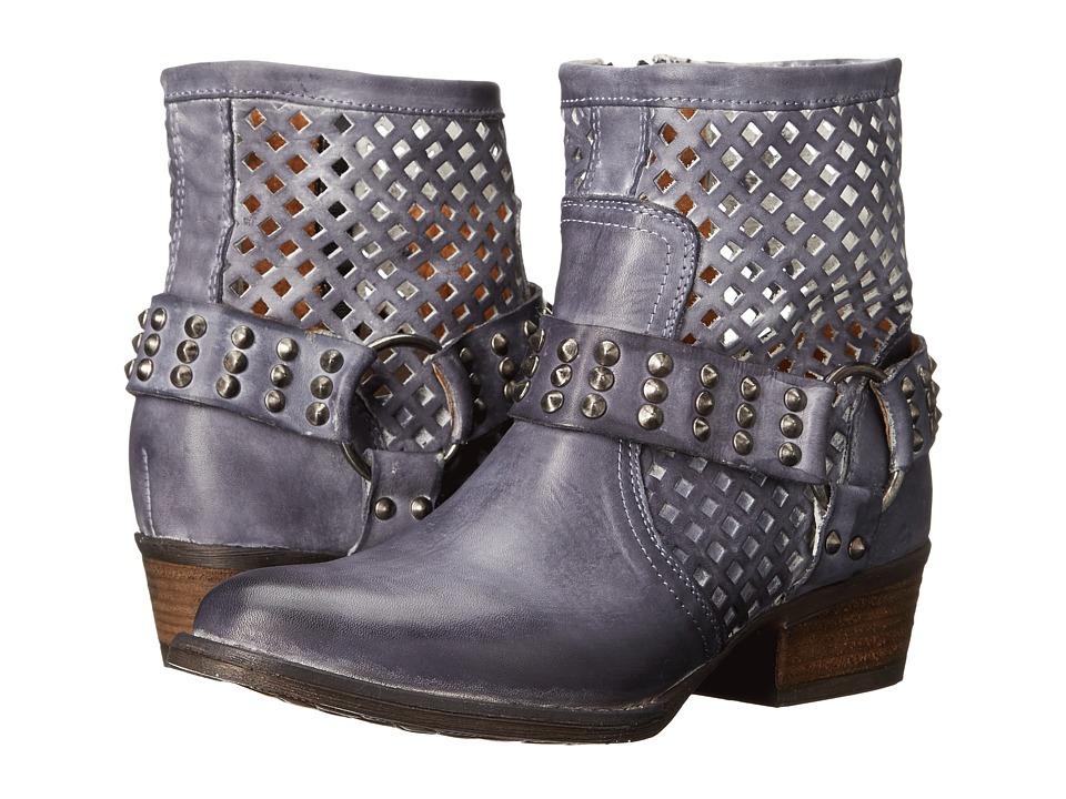 VOLATILE - Deluxe (Navy) Women's Zip Boots