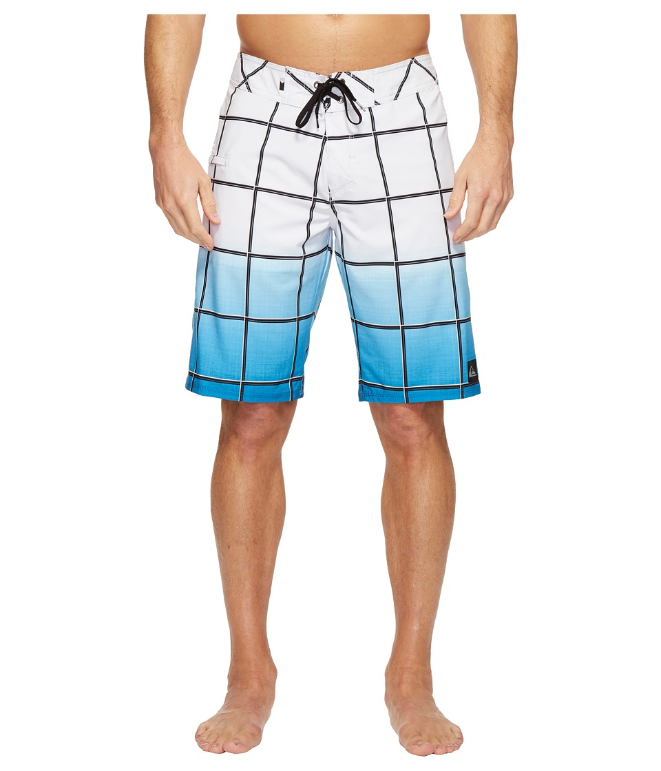 Quiksilver - Everyday Electric Stretch Vee 21 Boardshorts (White) Men's Swimwear