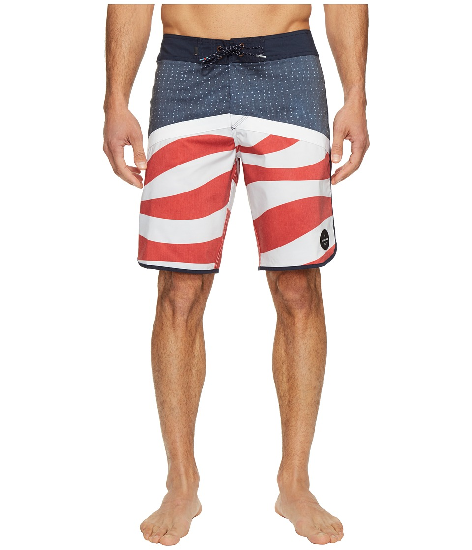 Quiksilver - Crypto Scallop 20 Boardshorts (Navy Blazer) Men's Swimwear