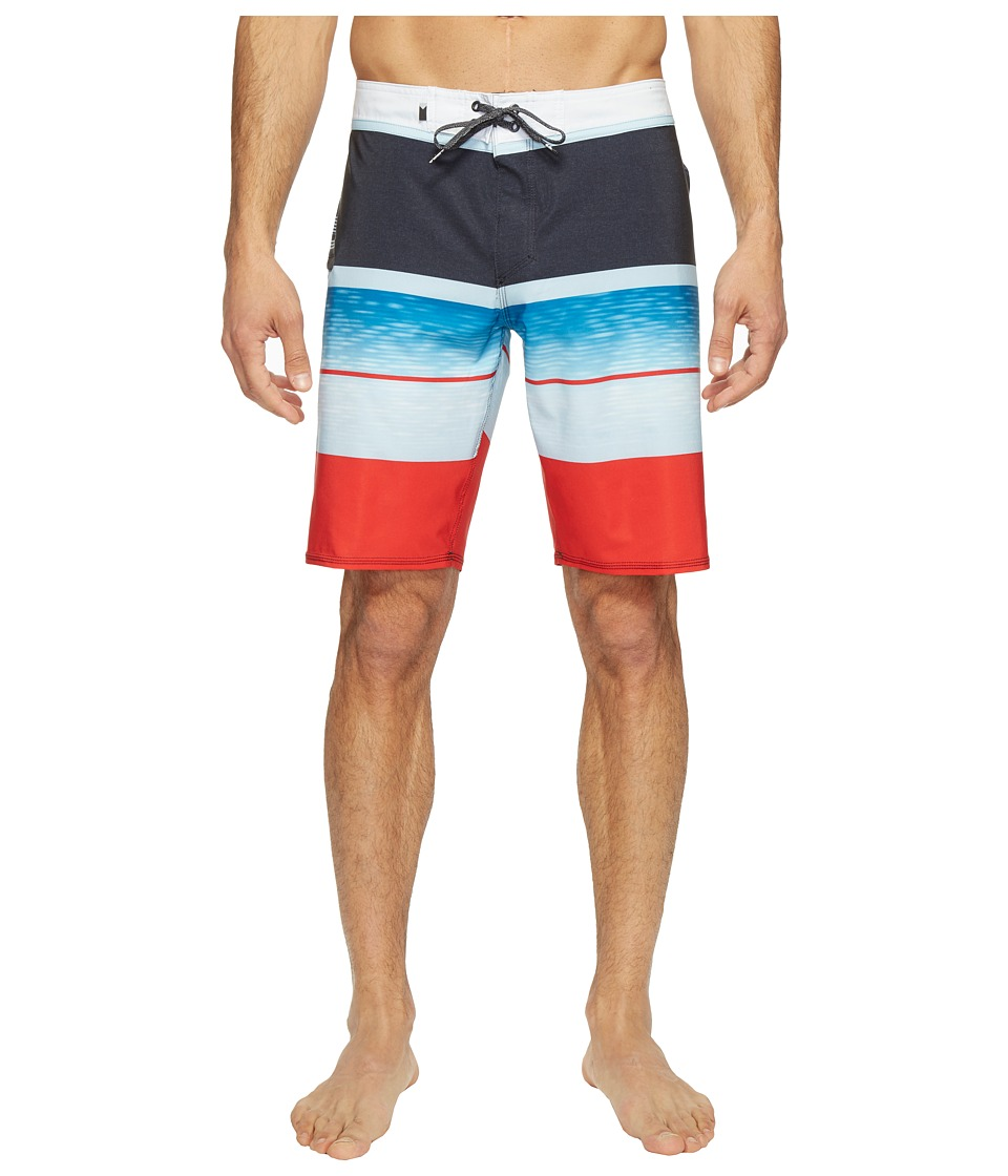 Quiksilver - Slab Logo Vee 20 Boardshorts (Quik Red) Men's Swimwear