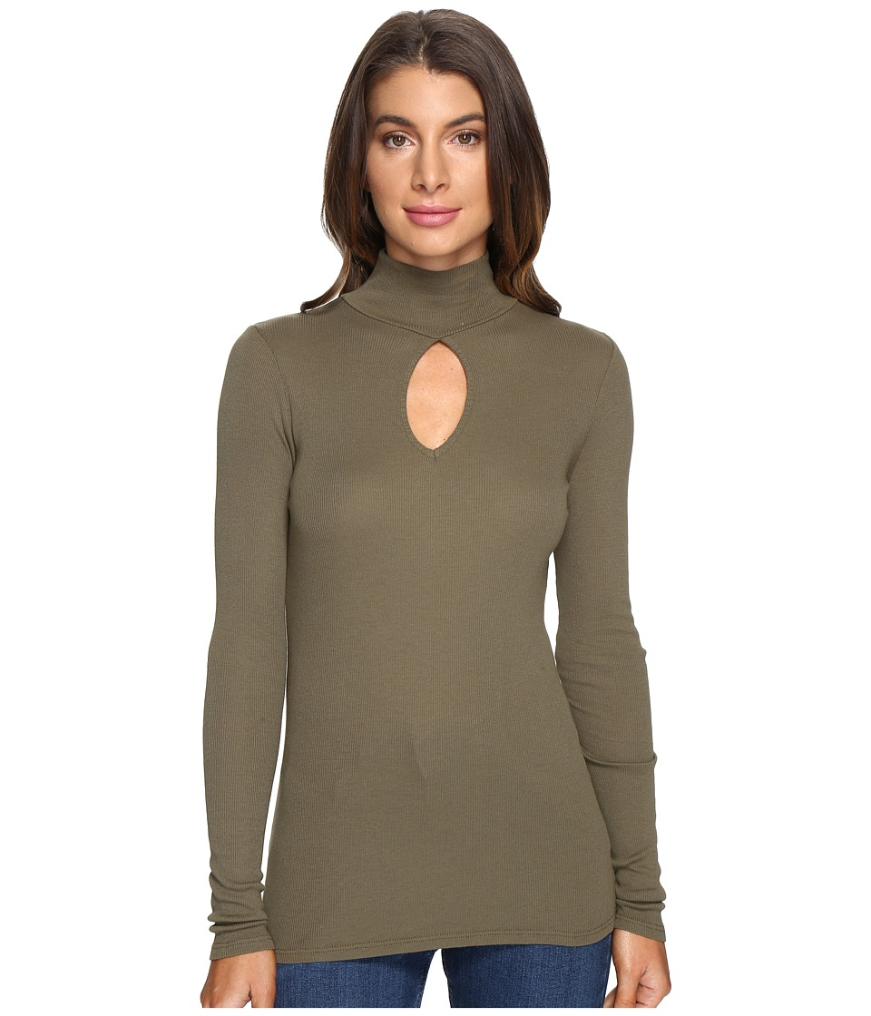 LAmade - Harley Turtleneck (Olive Night) Women's Long Sleeve Pullover