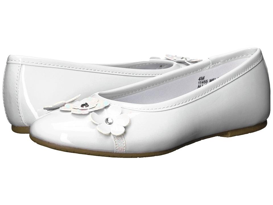 Rachel Kids - Melody (Little Kid/Big Kid) (White Patent) Girl's Shoes