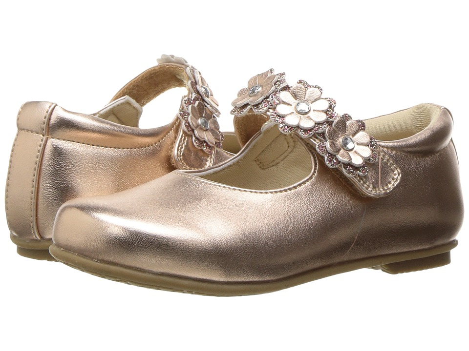 Rachel Kids - Lyla (Toddler/Little Kid) (Rose Gold) Girls Shoes
