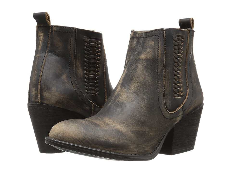 VOLATILE - Script (Charcoal) Women's Pull-on Boots