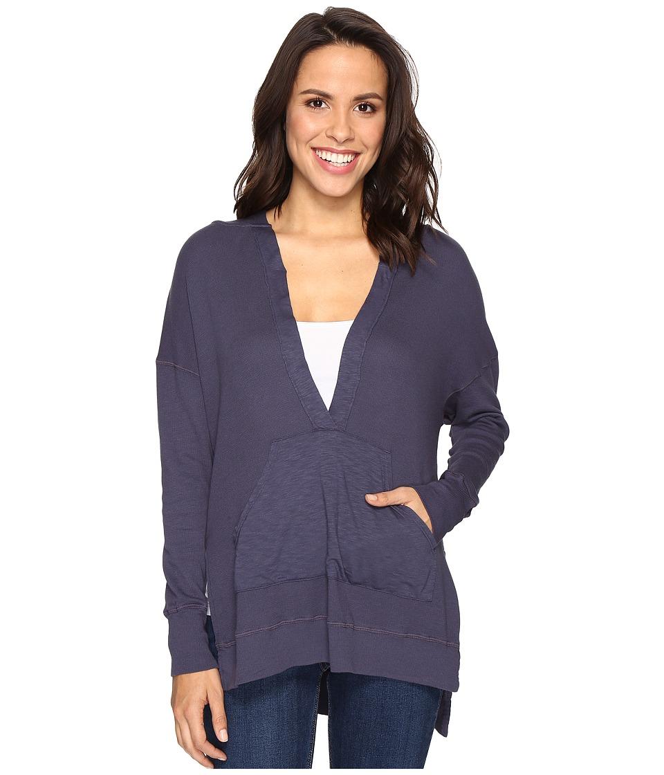 LAmade - Vanessa Hoodie (Denim) Women's Sweatshirt