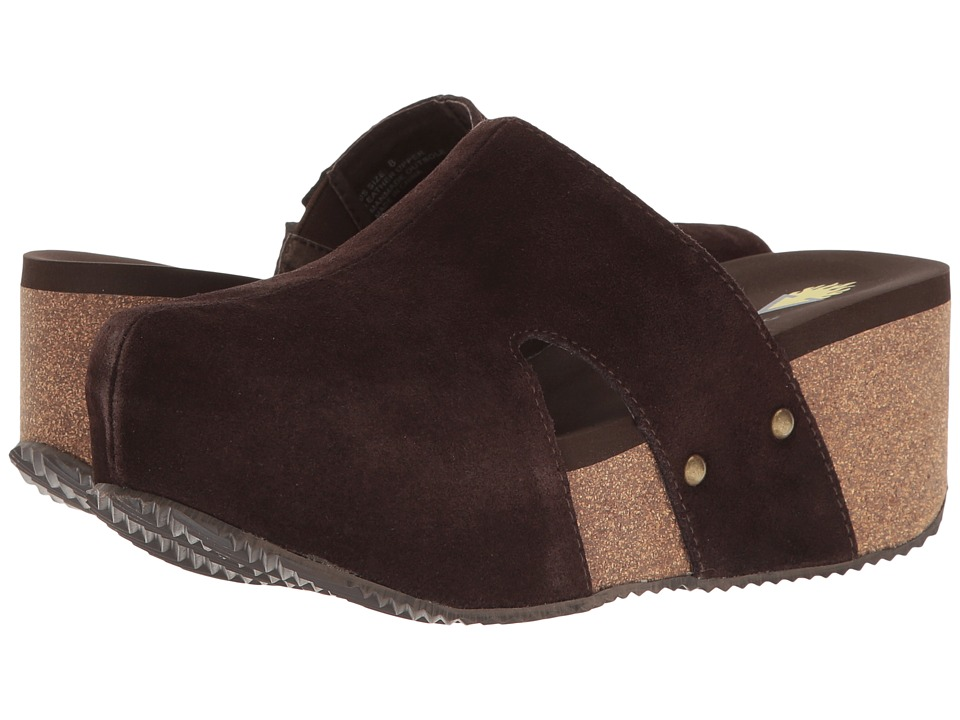 VOLATILE - Margo (Brown) Women's Slip on Shoes