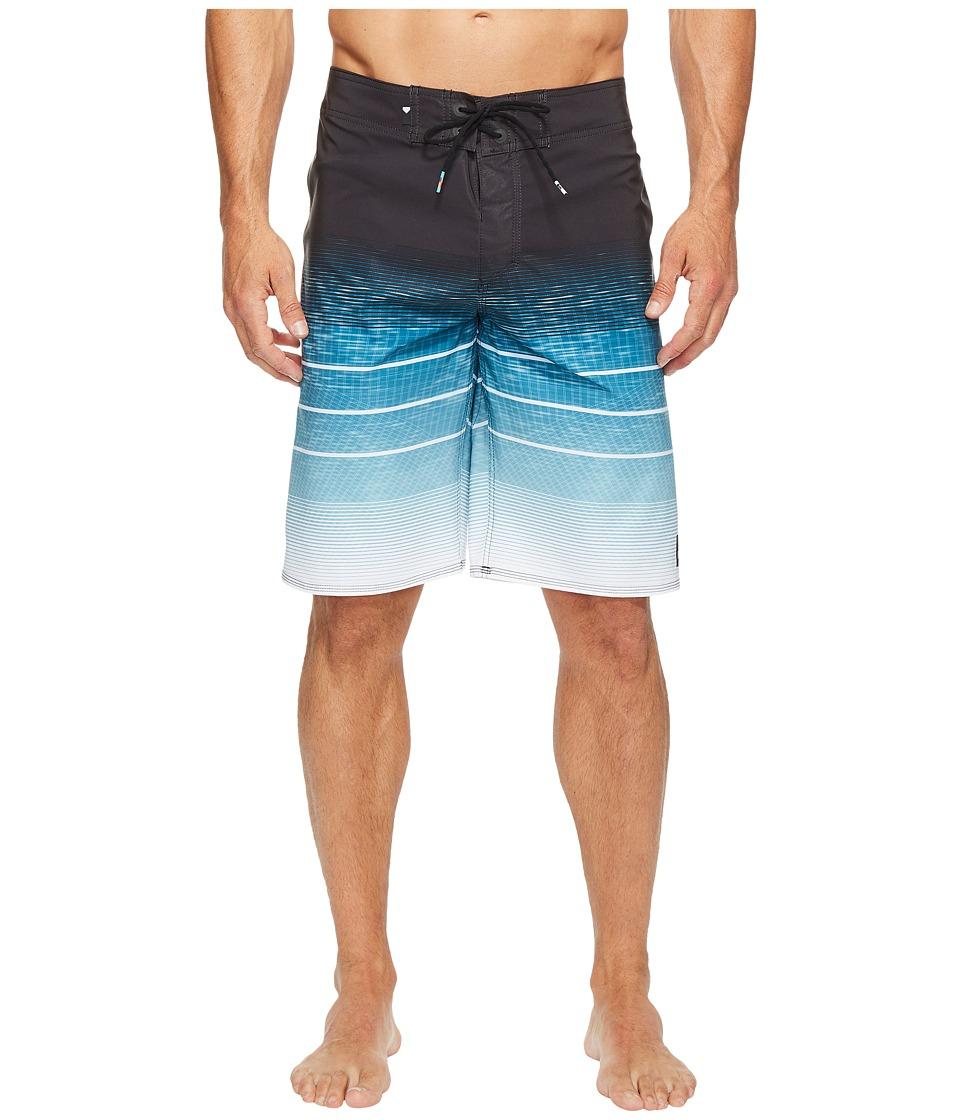 Quiksilver - Slab Momentum Vee 21 Boardshorts (Moroccan Blue) Men's Swimwear