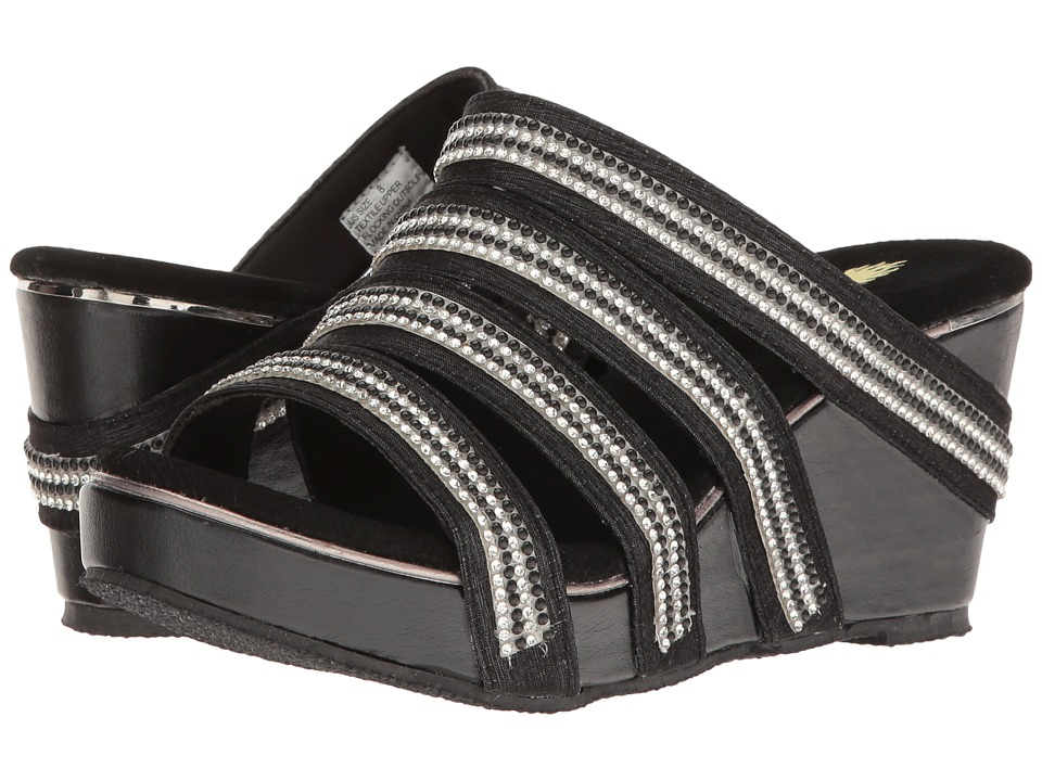 VOLATILE - Sensation (Black) Women's Sandals