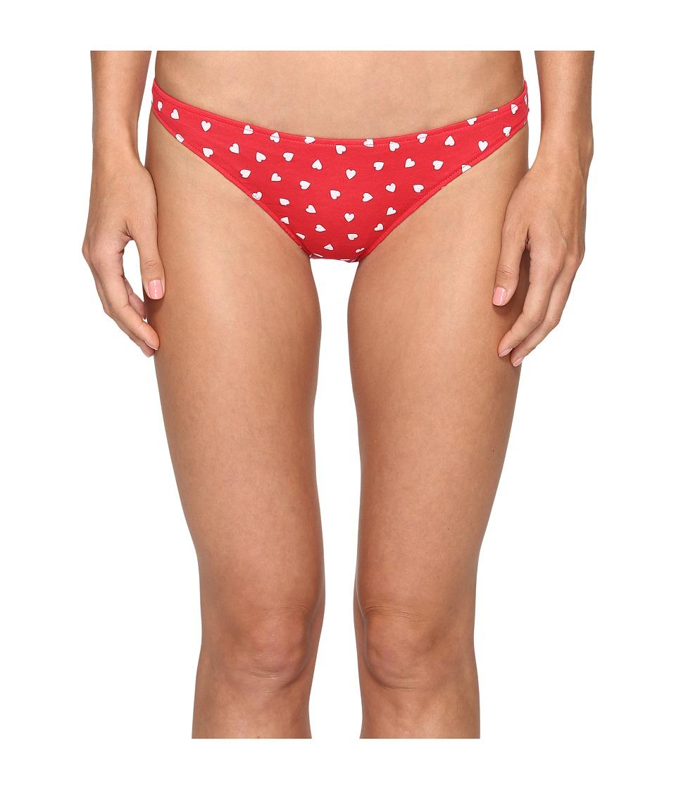 Only Hearts - Heritage Heart Supima Cotton Bikini (Rosehip/White) Women's Underwear