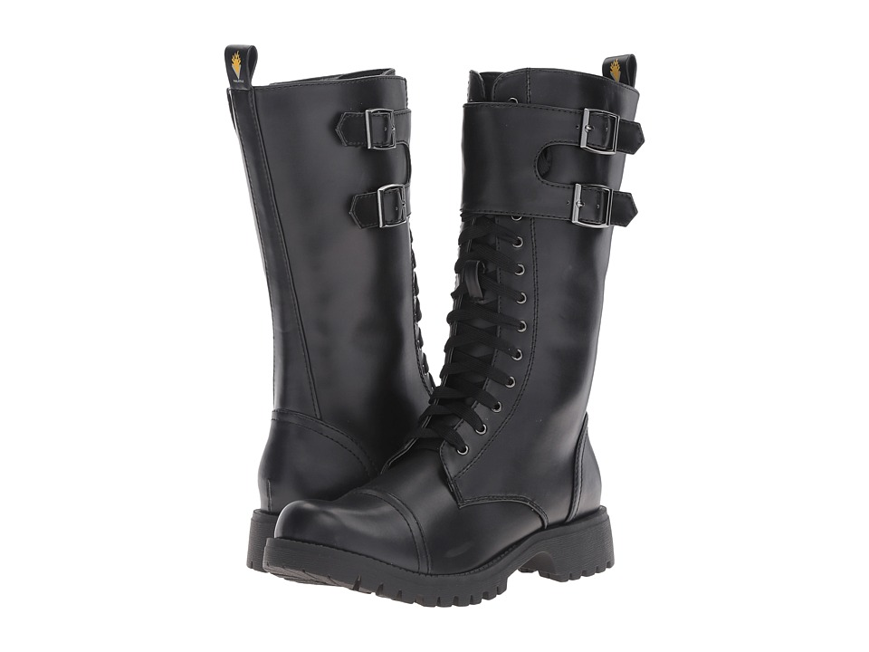 VOLATILE - Voltage (Black) Women's Lace-up Boots