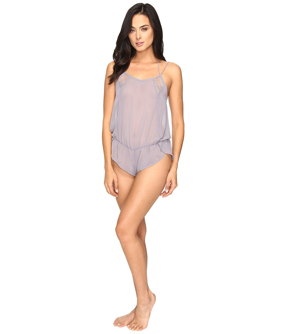 Only Hearts - Leila Chiffon Teddy (Mystic) Women's Jumpsuit & Rompers One Piece