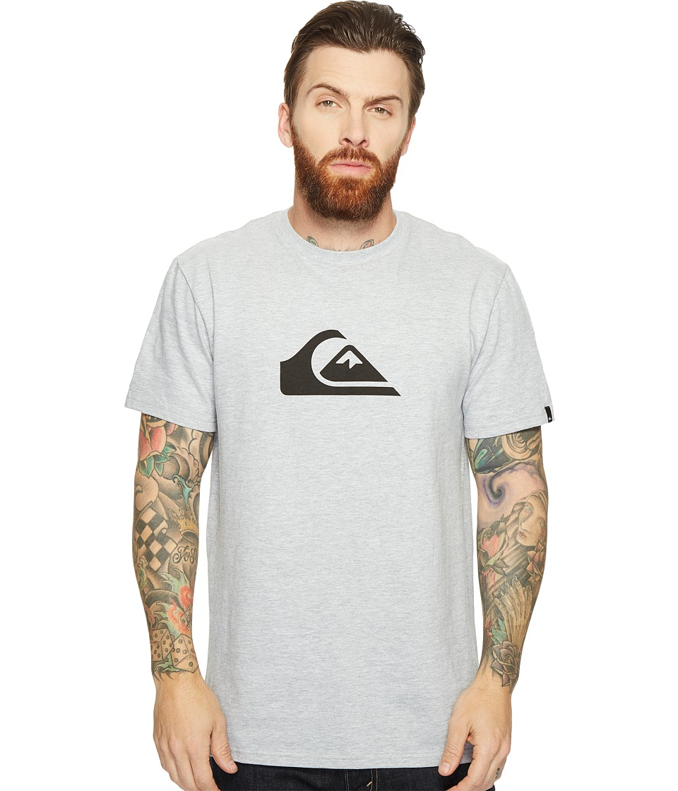 Quiksilver - Mountain Wave Logo Tee (Athletic Heather 1) Men's T Shirt