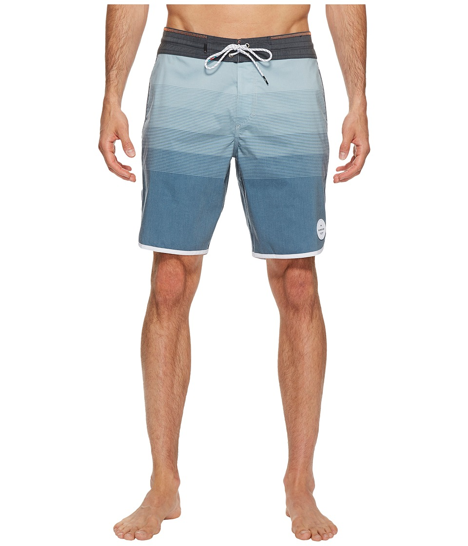 Quiksilver - Vista 19 Beach Shorts (Stone Blue) Men's Swimwear