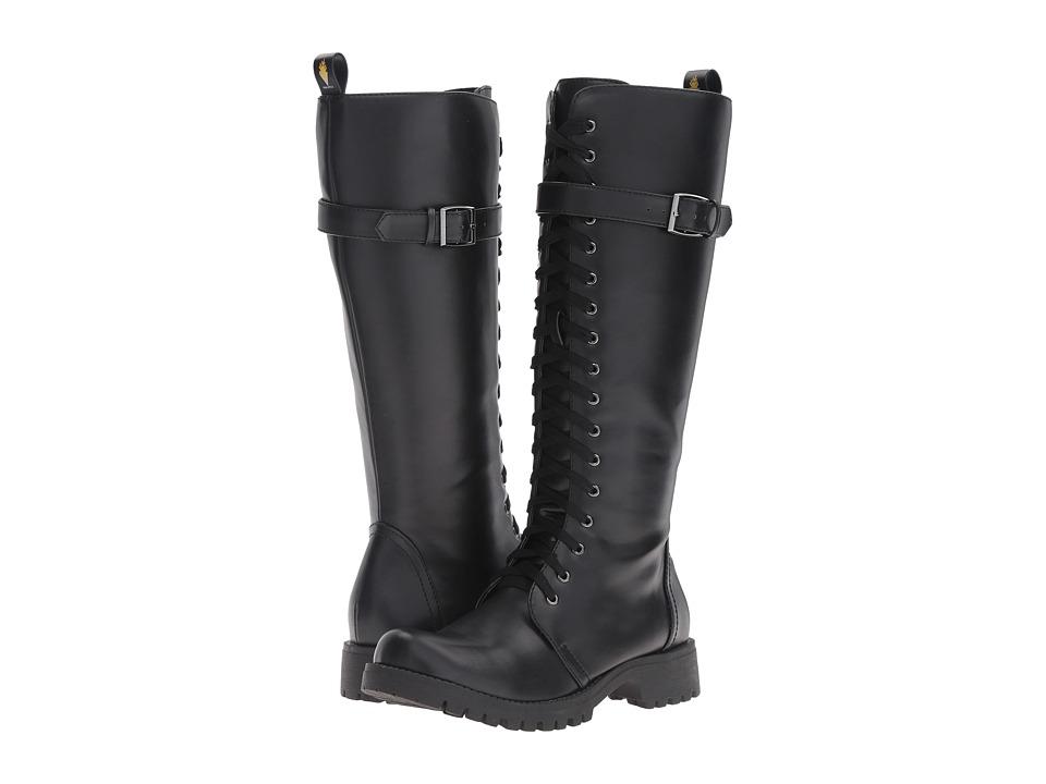 VOLATILE - Revenge (Black) Women's Lace-up Boots