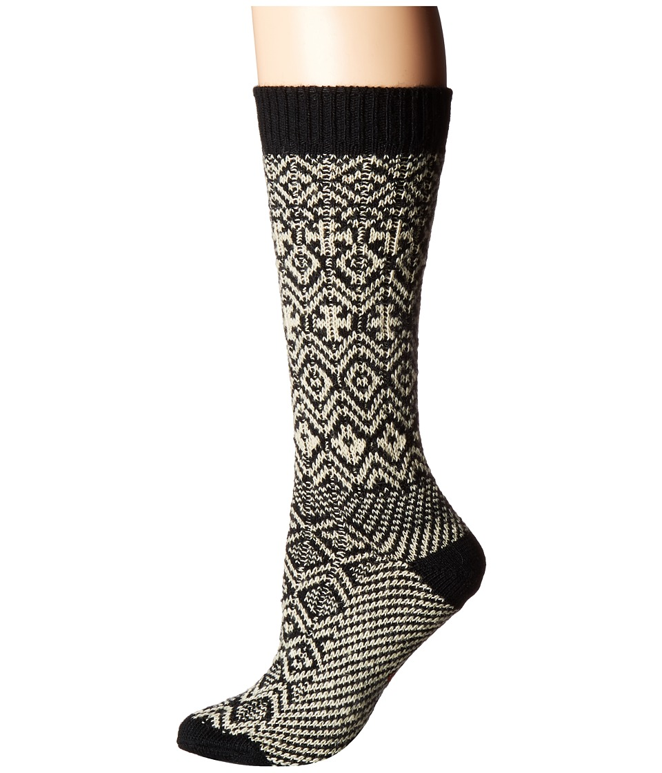 Wigwam - Rorvik (Black) Women's Crew Cut Socks Shoes