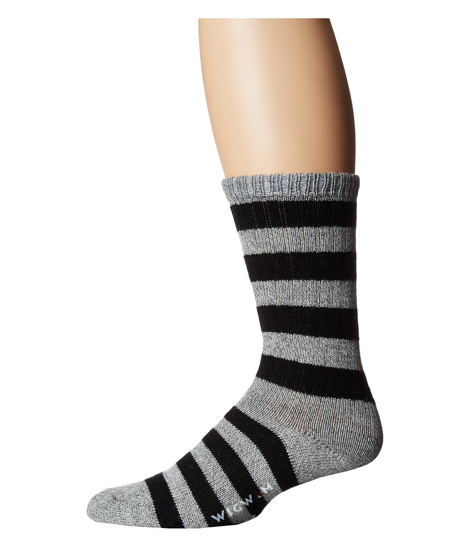 Wigwam - Scrum (Grey/Black) Men's Crew Cut Socks Shoes