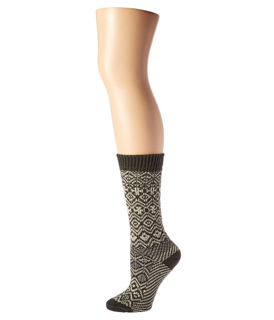 Wigwam - Rorvik (Charcoal) Women's Crew Cut Socks Shoes