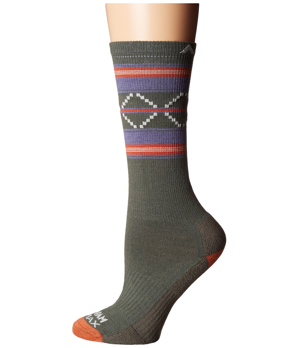 Wigwam - Escalante Pro (Foliage Green) Women's Crew Cut Socks Shoes