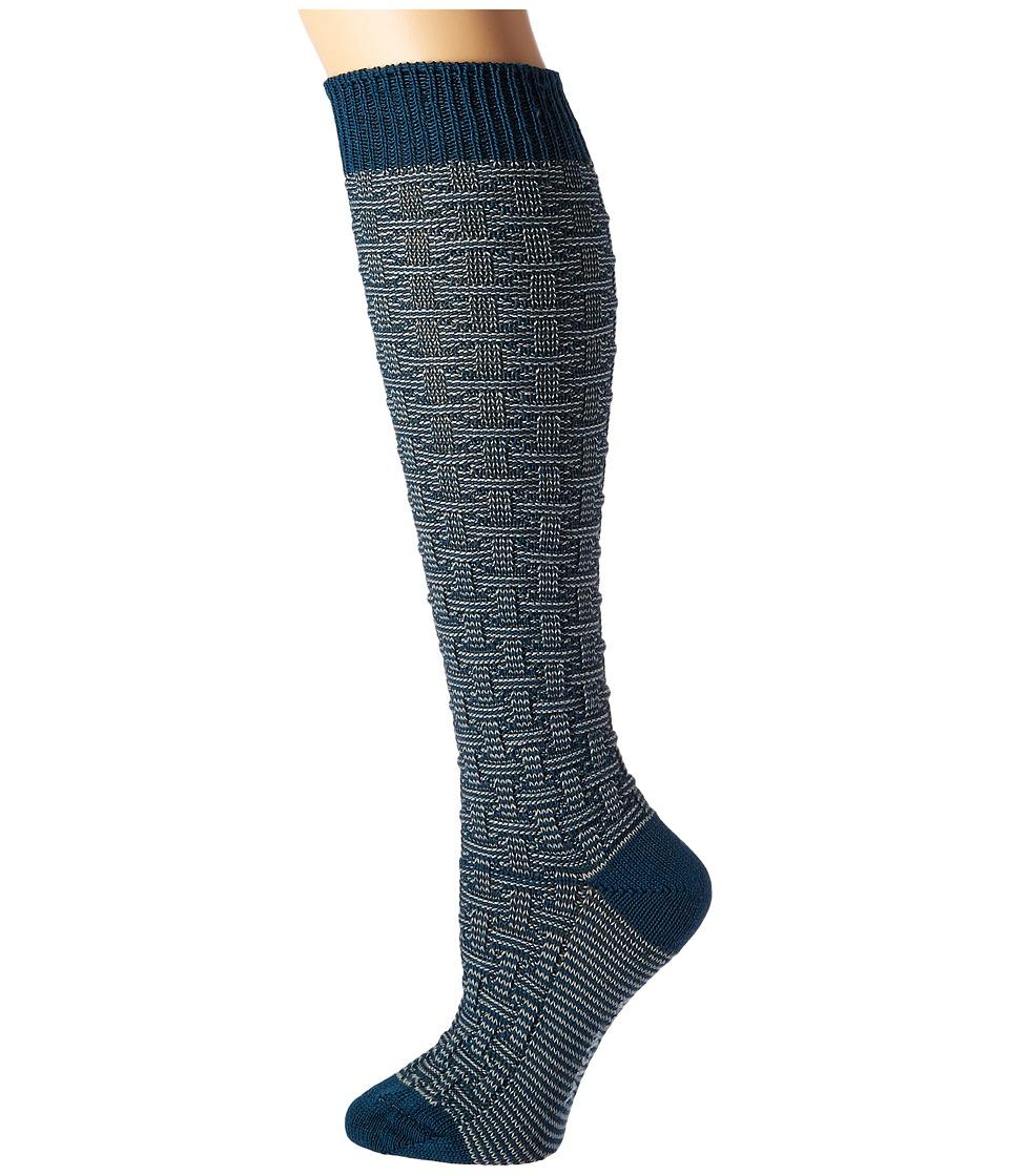 Wigwam - Ryn (Majolica Blue) Women's Crew Cut Socks Shoes