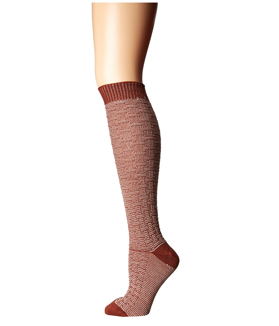 Wigwam - Ryn (Burnt Henna) Women's Crew Cut Socks Shoes