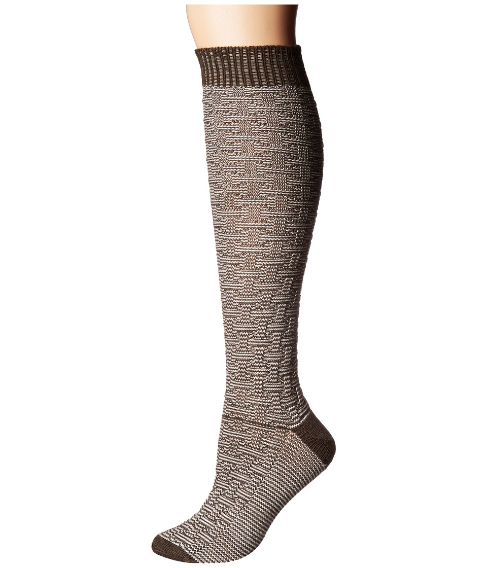 Wigwam - Ryn (Brown) Women's Crew Cut Socks Shoes