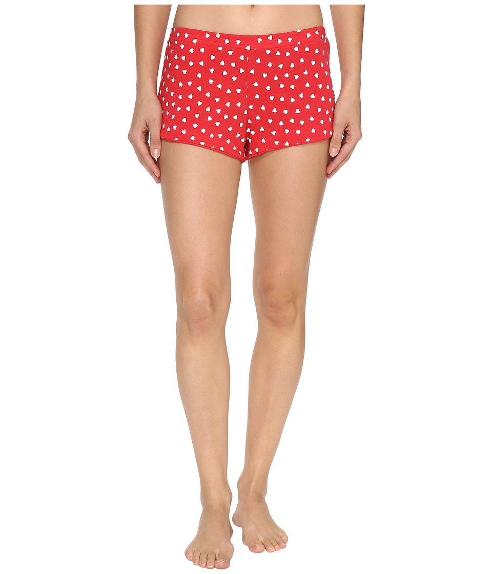 Only Hearts - Heritage Heart Supima Cotton Tulip Boxer (Rosehip/White) Women's Underwear